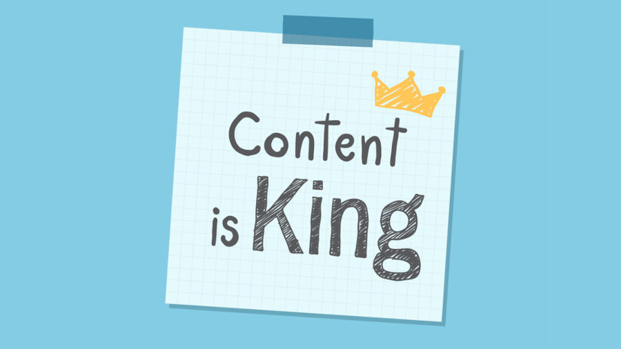 Content is A King